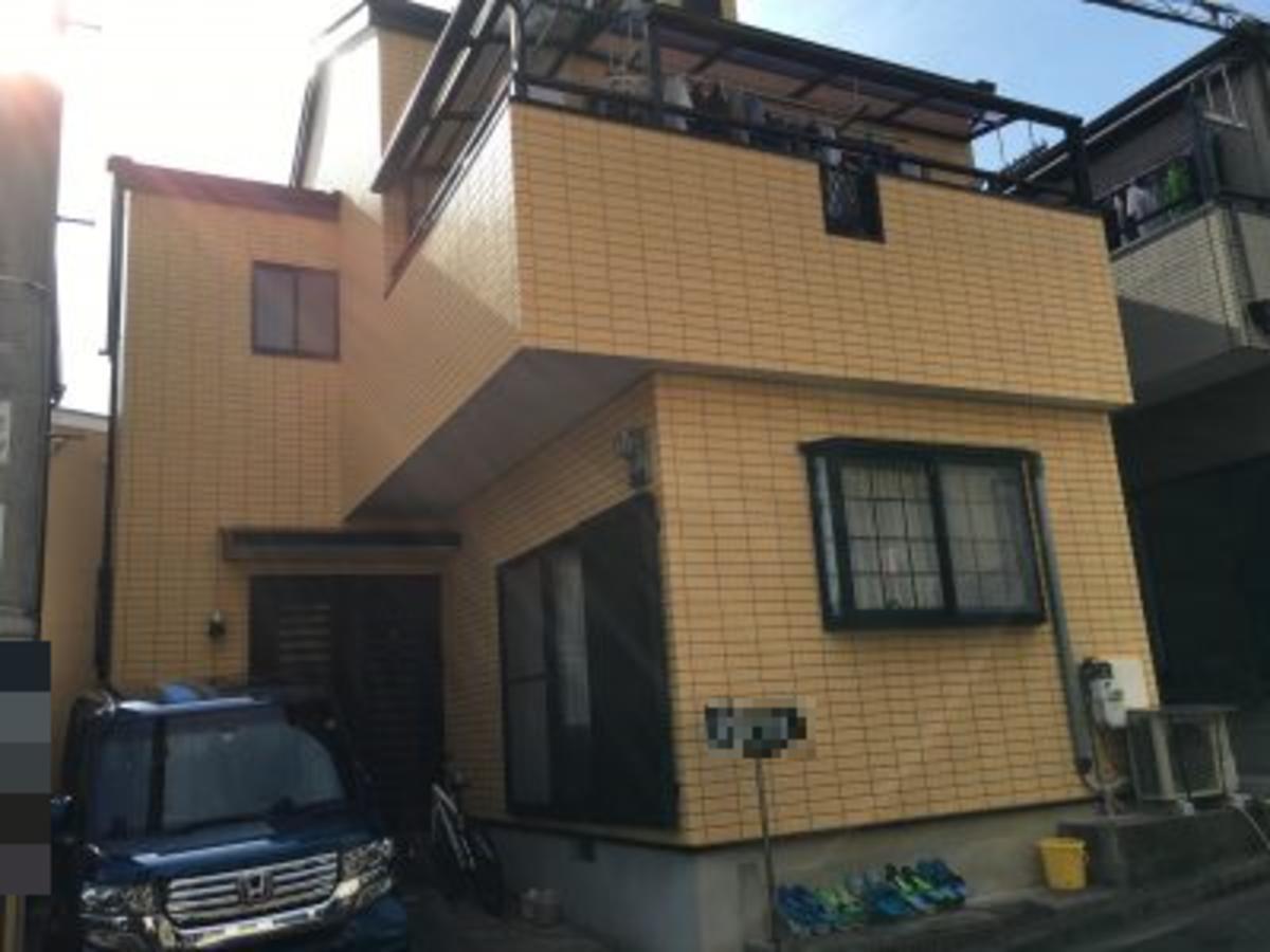 外壁塗装実例のサムネイル