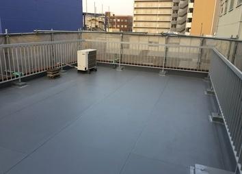 屋上・ベランダ防水工事 例