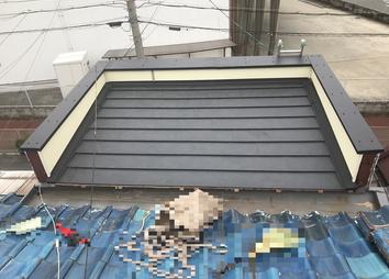 屋根工事例